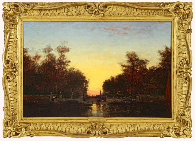 Un tableau du peintre Felix Ziem