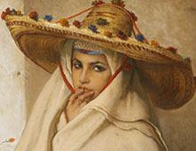 Une peinture de l'époque Orientaliste