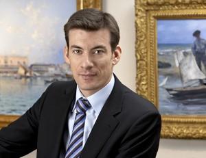 Mathias Ary Jan fondateur de la Galerie Ary Jan