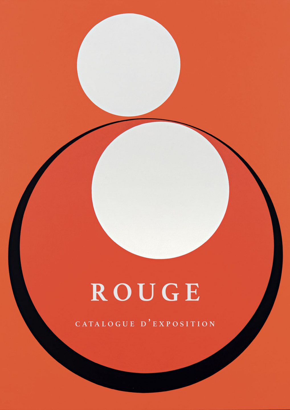 Catalogue d'exposition - ROUGE