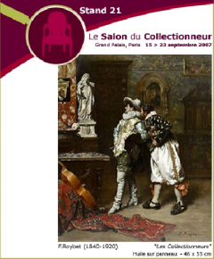 Salon du Collectionneur, stand 21