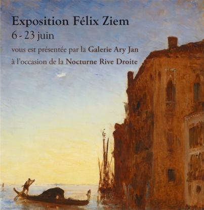 Exposition Félix Ziem - Nocturne Rive Droite