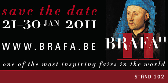 BRAFA 2011 - 56th Brussels Antiques & Fine Arts Fair / STAND 102