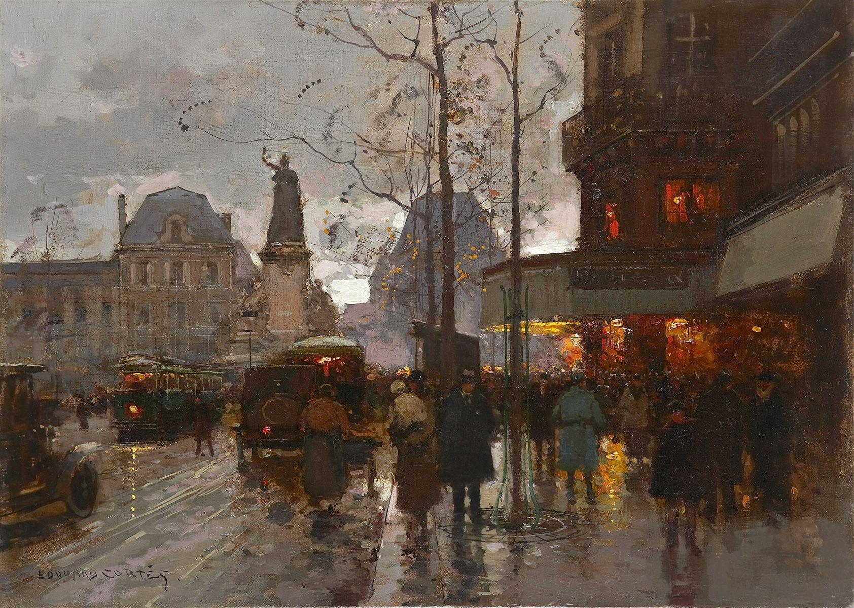 Extrêmement Édouard Cortès - Galerie Ary Jan IZ49