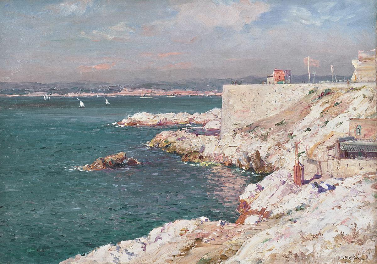 Jean-Baptiste Joseph Olive - Chemin de la Corniche, Marseille