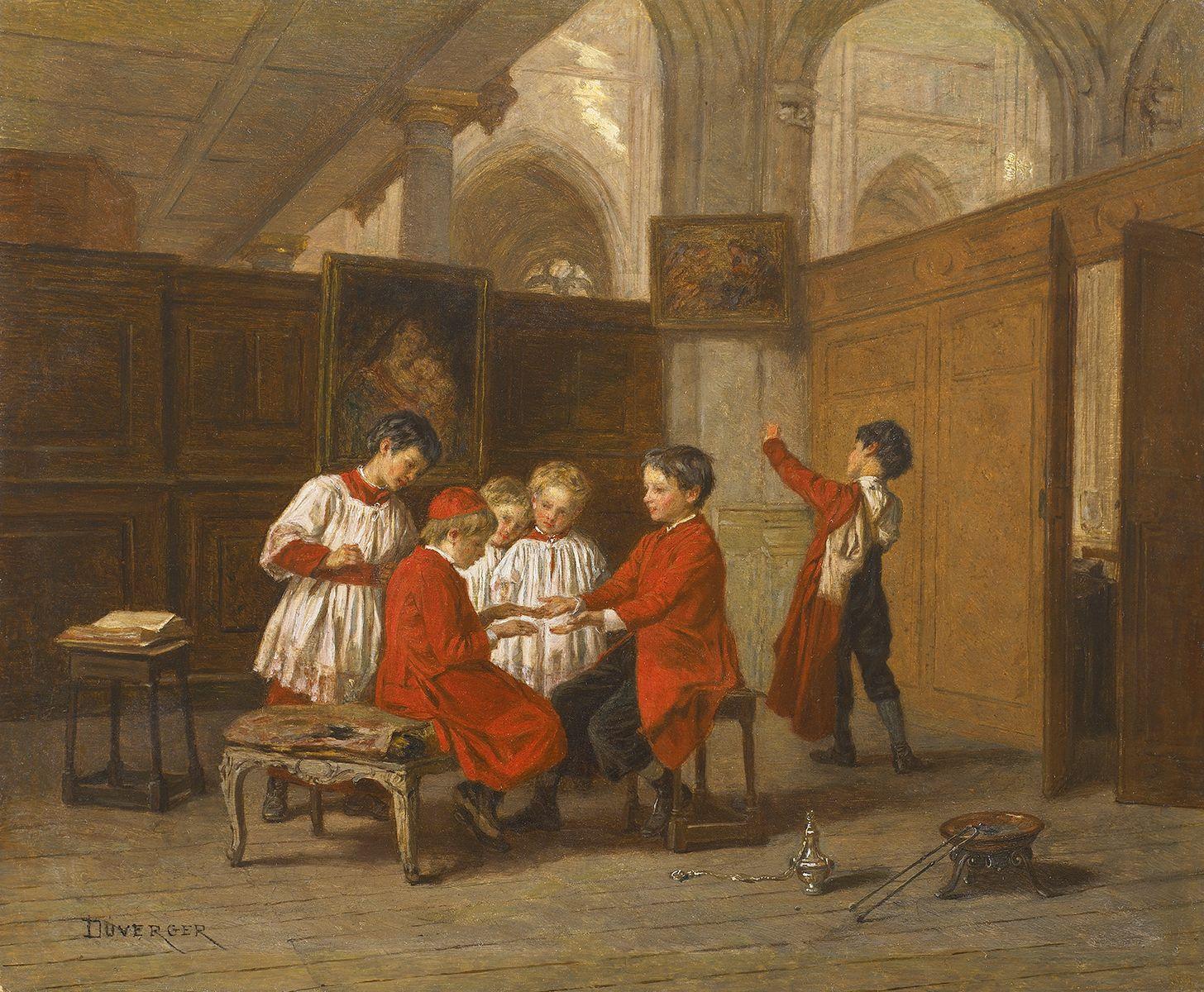 http://www.galeriearyjan.com/docs/larges/Theophile-Duverger_Enfants-de-choeur-dans-la-sacristie.jpg