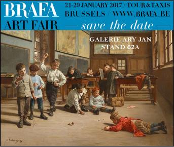 BRAFA 2017 - 62th Brussels Antiques & Fine Arts Fair Stand 62a