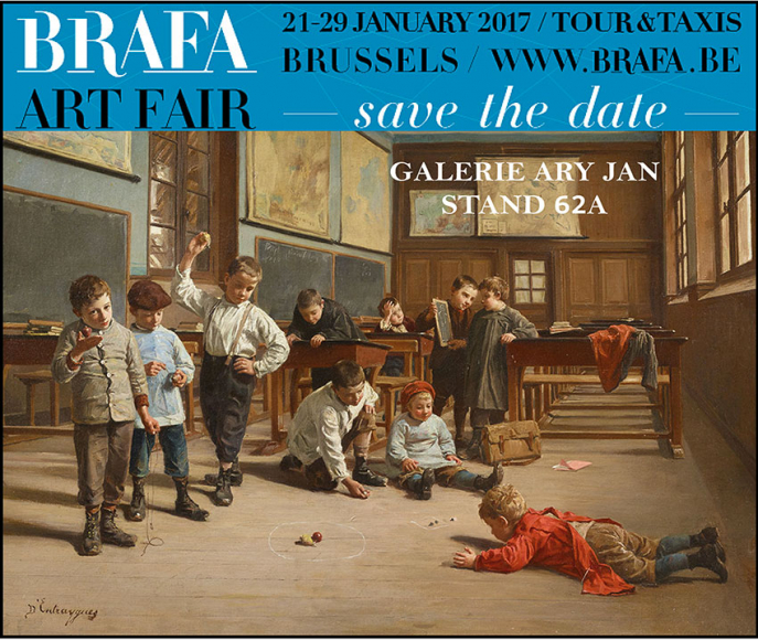 BRAFA 2017 - 62th Brussels Antiques & Fine Arts Fair Stand 62a