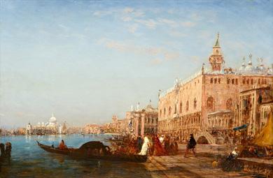 Peinture du Félix Ziem