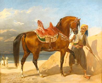 Peinture orientaliste Algrérienne