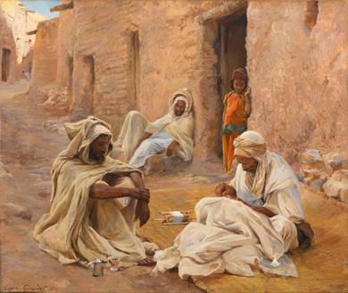 Peinture d'Eugène Girardet