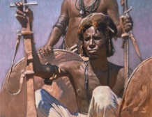 Bicharins au Soudan