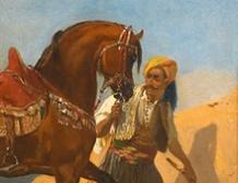 Étalon arabe