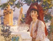 Jeune Femme de Tlemcen, Algérie