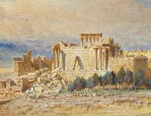 Les ruines de Baalbek, Liban