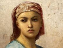 Jeune femme egyptienne