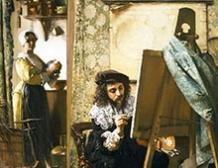 L'atelier de l'artiste