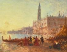 Embarquement Quai des Esclavons, Venise