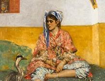 Jeune femme orientale