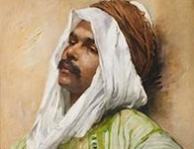 Portrait d'Egyptien