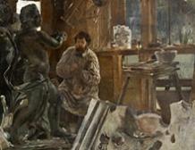 L'atelier du sculpteur