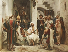 Le joueur de Bengala, Constantine