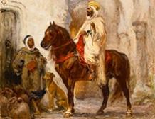 Caïd à cheval