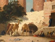 La halte en Egypte