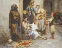 Le jeune marchand de Jasmin, Constantine